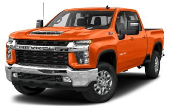 2020 Chevrolet Silverado 3500HD - Tangier Orange