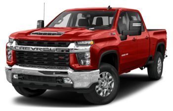 2020 Chevrolet Silverado 3500HD - Red Hot