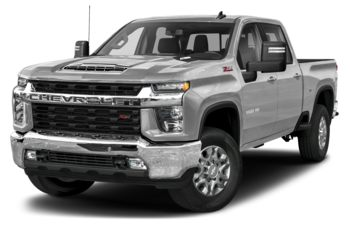 2021 Chevrolet Silverado 3500HD - Silver Ice Metallic