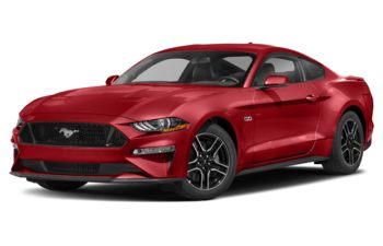 2021 Ford Mustang - Rapid Red Metallic Tinted Clearcoat
