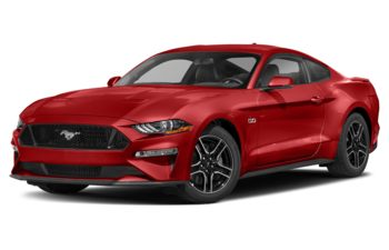 2021 Ford Mustang - Race Red