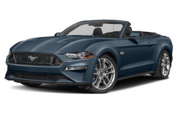 2021 Ford Mustang - Antimatter Blue Metallic