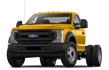 2020 Ford F-350 Chassis - Yellow