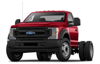 2021 Ford F-550 Chassis - Vermillion Red
