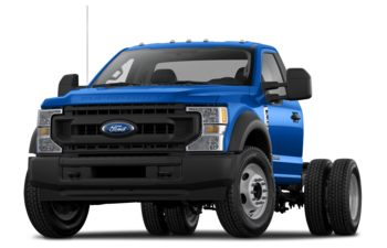 2020 Ford F-550 Chassis - Velocity Blue Metallic