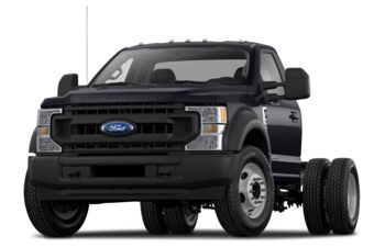 2021 Ford F-600 Chassis - Antimatter Blue Metallic