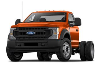 2021 Ford F-550 Chassis - Orange