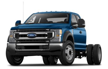 2021 Ford F-550 Chassis - Antimatter Blue Metallic