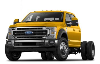 2021 Ford F-350 Chassis - Yellow