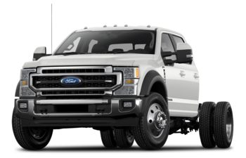 2020 Ford F-450 Chassis - Star White Metallic Tri-Coat