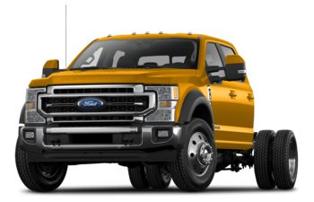 2021 Ford F-350 Chassis - School Bus Yellow