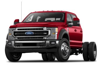 2021 Ford F-350 Chassis - Vermillion Red