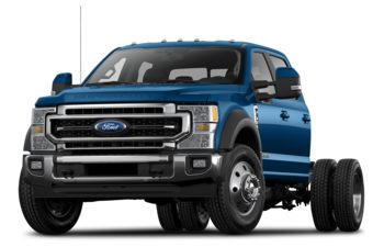 2021 Ford F-350 Chassis - Antimatter Blue Metallic