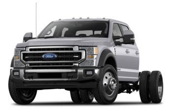 2021 Ford F-550 Chassis - Iconic Silver Metallic