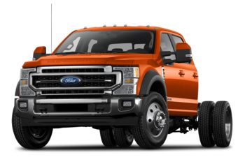 2021 Ford F-450 Chassis - Orange