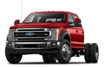 2021 Ford F-550 Chassis - Race Red