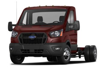 2021 Ford Transit-350 Cab Chassis - Kapoor Red Metallic