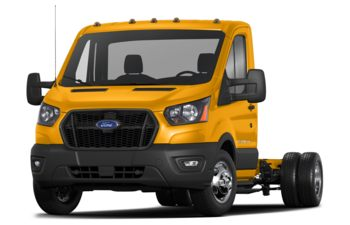 2021 Ford Transit-350 Cab Chassis - School Bus Yellow