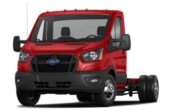 2021 Ford Transit-350 Cab Chassis - Race Red