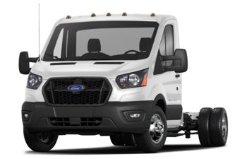 2021 Ford Transit-350 Cab Chassis - Oxford White