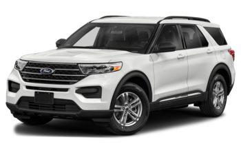 2021 Ford Explorer - Oxford White