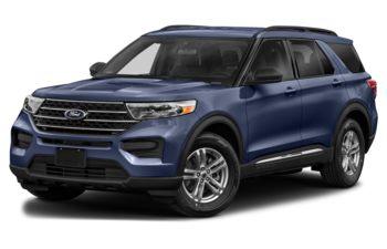 2021 Ford Explorer - Infinite Blue Metallic Tinted Clearcoat