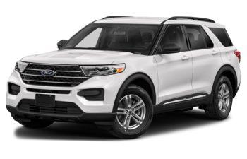 2021 Ford Explorer - Star White Metallic Tri-Coat