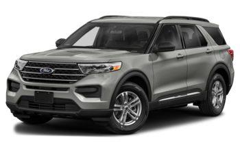 2021 Ford Explorer - Iconic Silver Metallic