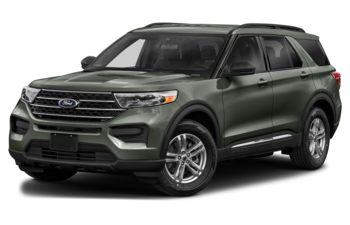 2021 Ford Explorer - Forged Green Metallic