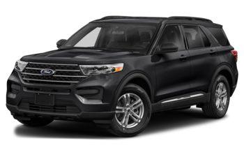 2021 Ford Explorer - Agate Black Metallic