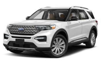 2020 Ford Explorer - Star White Tri-Coat