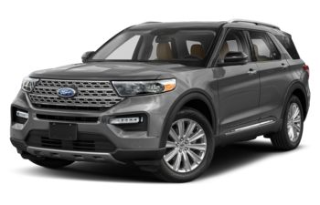 2020 Ford Explorer - Silver Spruce Metallic