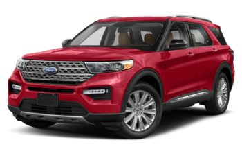 2020 Ford Explorer - Rapid Red Metallic Tinted Clearcoat