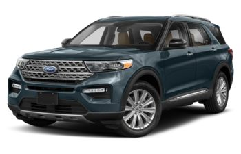 2020 Ford Explorer - Blue Metallic