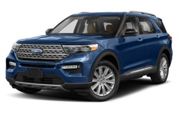 2020 Ford Explorer - Iconic Silver Metallic