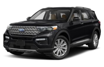 2020 Ford Explorer - Agate Black Metallic