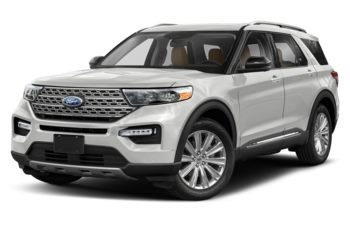 2020 Ford Explorer - Oxford White