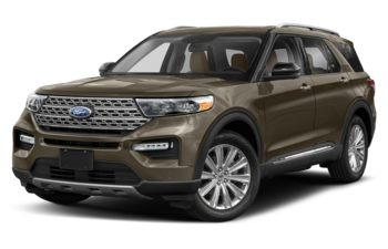 2021 Ford Explorer - Stone Grey Metallic