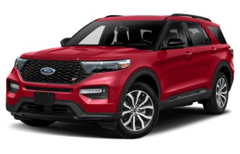 2021 Ford Explorer - Rapid Red Metallic Tinted Clearcoat