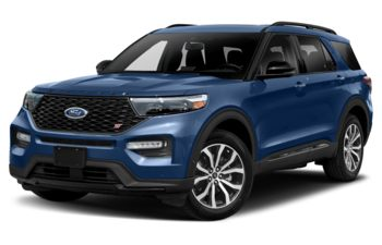 2021 Ford Explorer - Atlas Blue Metallic