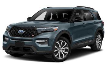 2020 Ford Explorer - Blue Metallic