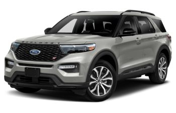 2021 Ford Explorer - Iconic Silver Metallic