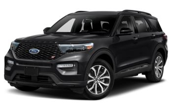2021 Ford Explorer - Agate Black Metallic