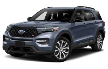 2021 Ford Explorer - Infinite Blue Metallic Tinted Clearcoat
