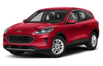 2021 Ford Escape - Rapid Red Metallic Tinted Clearcoat