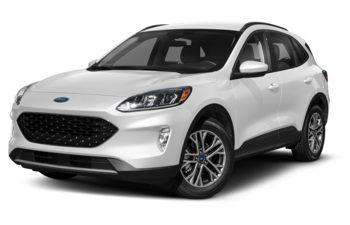 2021 Ford Escape - Star White Metallic Tri-Coat