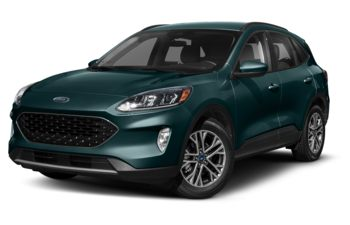 2020 Ford Escape - Dark Persian Green Metallic