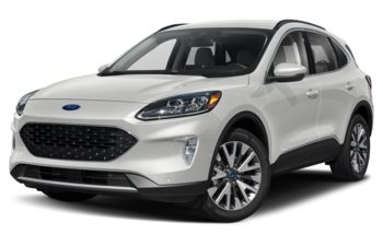 2020 Ford Escape - Star White Tri-Coat