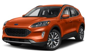 2020 Ford Escape - Sedona Orange Metallic