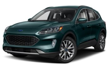 2020 Ford Escape - Dark Persian Green Metallic